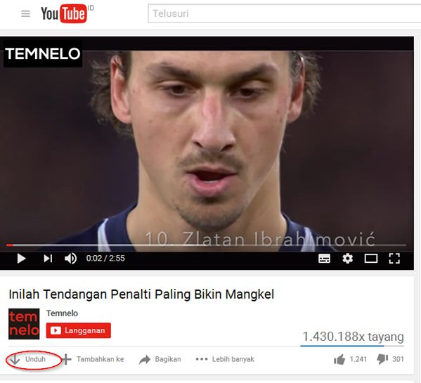 cara download video tanpa idm