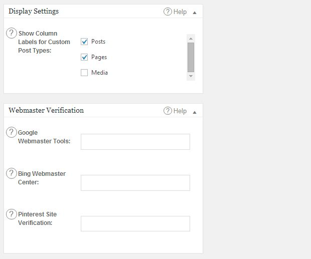 cara setting plugin all ini one seo pack