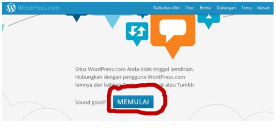 cara membuat blog wordpress